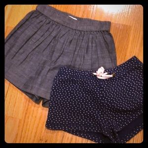 Other - 2 pairs of Girls shorts